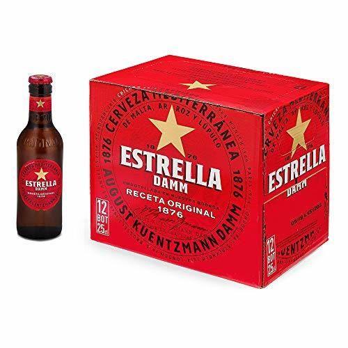 Cerveza Estrella Damm Caja de 12 Botellas 25cl