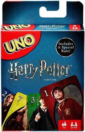 Mattel Games UNO Harry Potter Juego de Eliminar Cartas - Juegos de