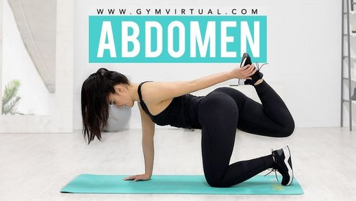 Rutina para tonificar abdomen y reducir cintura - YouTube
