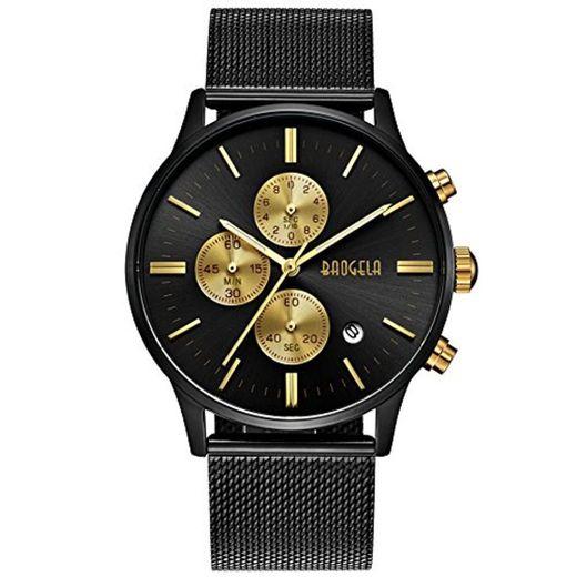 Reloj Hombre Acero Inoxidable Oro