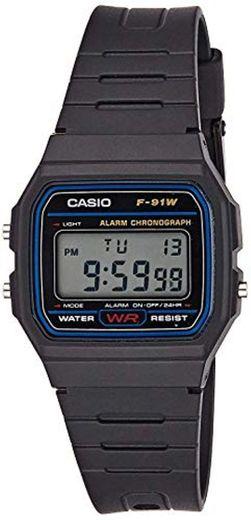 Reloj Casio Collection para Hombre F-91W-1YER