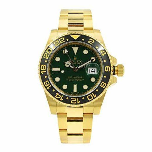 Rolex GMT Master II 'Anniversary Green' Reloj automático de Oro Amarillo 116718LN