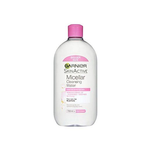 Agua micelar Garnier para piel sensible 700ml