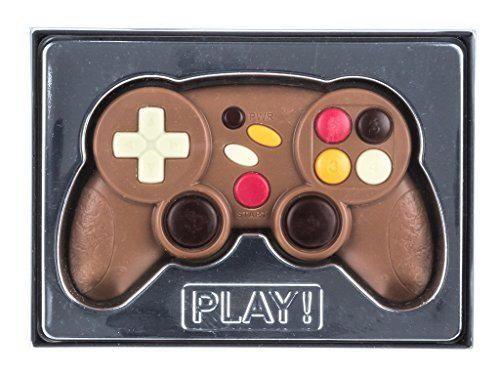 Mando de videojuegos de chocolate con caja de regalo