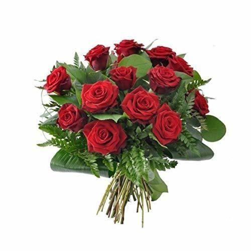 Florclick - Ramo de 12 Rosas Rojas