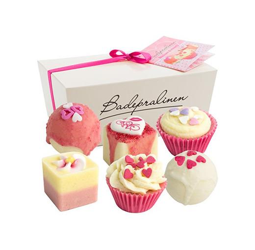 BRUBAKER Cosmetics - Juego de 6 bombas de baño 'Blossom & Hearts'