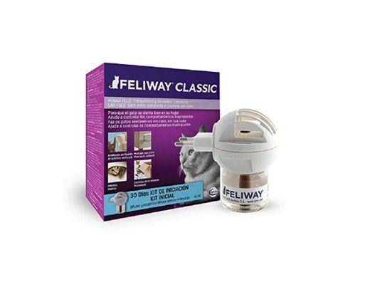 FELIWAY Classic - Antiestrés para gatos - Marcaje con orina, Miedos, Cambios