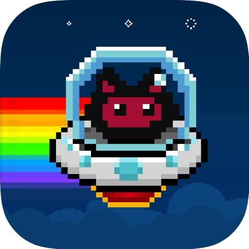 Flappy Rainbow Cat