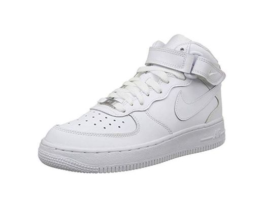 Nike - Zapatillas de baloncesto AIR FORCE 1 MID