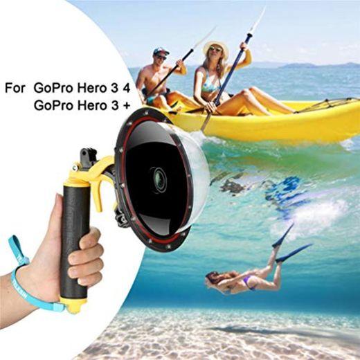 FEIMUOSI para GoPro Dome Port Hero 4 Hero 3 3