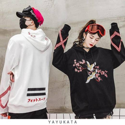 Yayukata hoodie