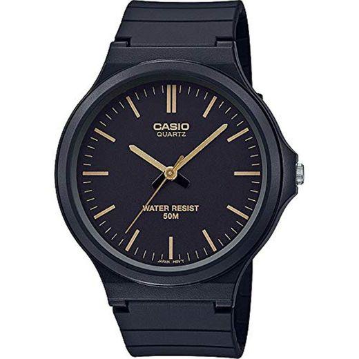 Casio Reloj Analógico para Unisex Adultos de Cuarzo con Correa en Resina