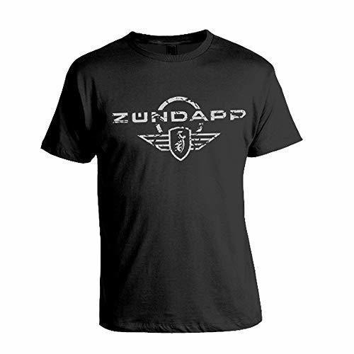 Classic Zundapp Motorcycle Logo T-Shirt Mens Fashion tee