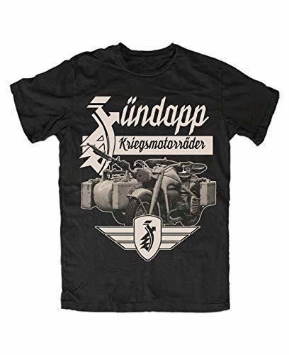 ouy Zündapp 2 T-Shirt Black K800
