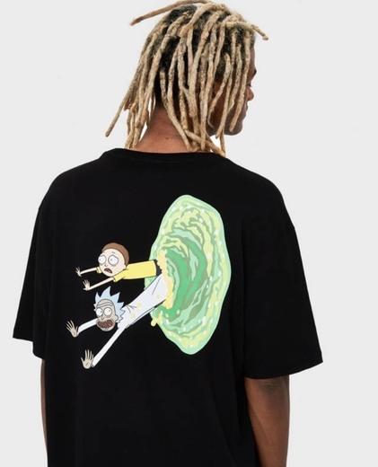 Camiseta rick y morty