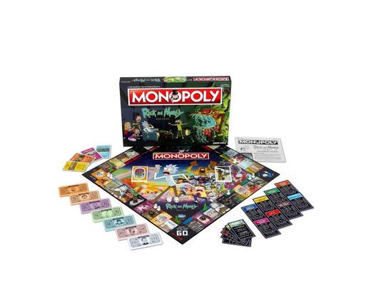 Monopoly rick y morty