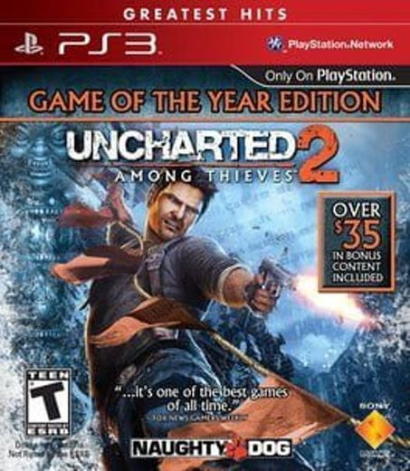 Uncharted 2: Among Thieves - Game of The Year Edition