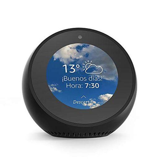 Amazon Echo Spot - Altavoz inteligente con pantalla que se conecta a