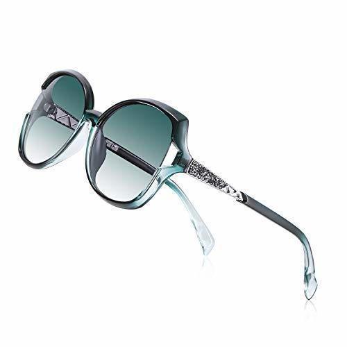 PORPEE Gafas de Sol Mujer Polarizadas, 2019 Gafas de Sol Moda con