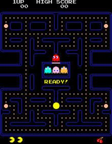 Arcade Game: Pac-Man (1980 Namco (Midway License for US ...