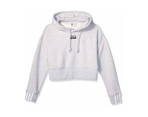 adidas Originals Women's V-ocal Cropped Hooded Sweatshirt
