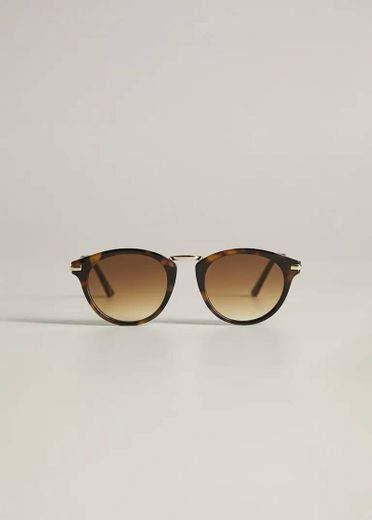 Óculos de sol ponte metálico