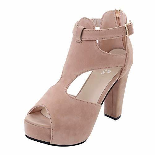 Logobeing Zapatos Mujer Verano 2019 - Cuñas Mujer Zapatos Tacon Mujer Sandalias