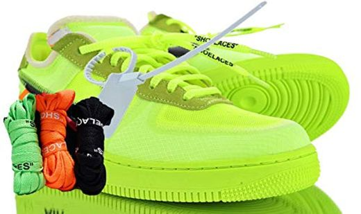 Off Femme Hombre Zapatillas Basket Zapatos Running Volt Black Trainers White Sneaker