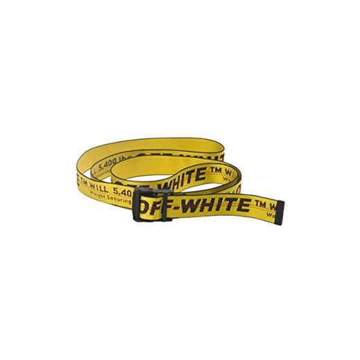 Lanfuu OFF WHITE Cinturones de diseñador, cinturón industrial, cinturón de hebilla negro,
