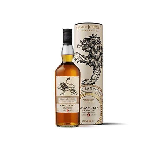 Lagavulin - Whisky Scotch Islay Single Malt, Edición Limitada Juego de Tronos