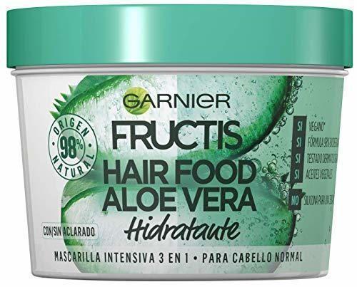 Garnier Fructis Hair Food Mascarilla Capilar 3 en 1 Aloe Vera Hidratante
