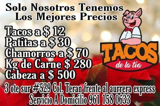Tacos De La Tia