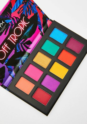 Off Tropic Shadow Palette | NYX Professional Makeup