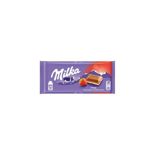 Tablete Chocolate de Leite Morango/Iogurte