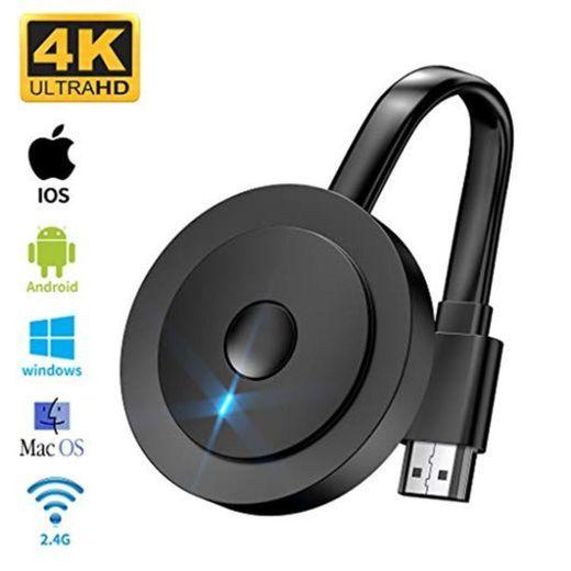 Wireless HDMI 4K HDR, MPIO HDMI Inalámbrico 1080P WiFi Display Dongle Receiver