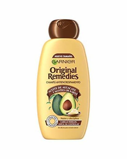 Garnier Original Remedies Aceite de aguacate y manteca de karité Champú para