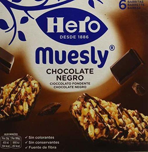 Hero Muesly Chocolate Negro