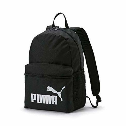 Puma Phase - Mochila, Unisex Adulto, Negro