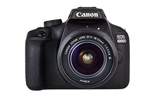 Canon EOS 4000D - Cámara réflex de 18 MP