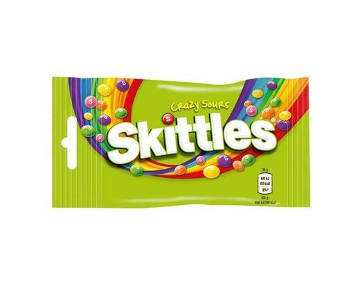 Caramelos Skittles Crazy Sours vegan snacks doces comida