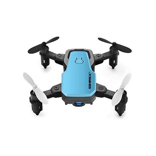 SIMREX X300C Mini Drone con cámara WiFi HD FPV Plegable RC Quadcopter