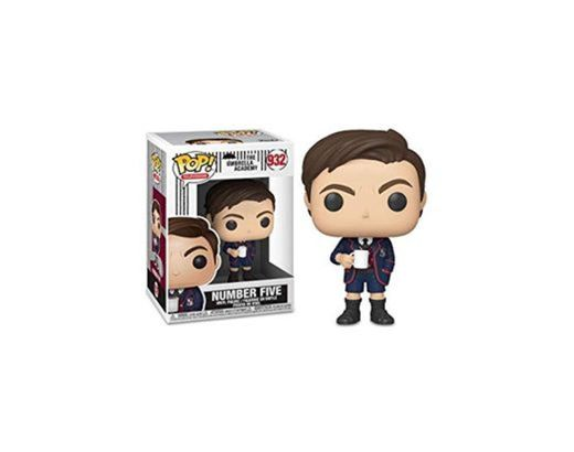 Funko- Pop TV: Umbrella Academy-Number Five w/Chase