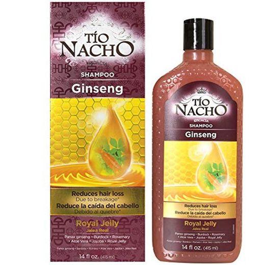 Tío Nacho Ginseng Jalea real Champú, 415 ml