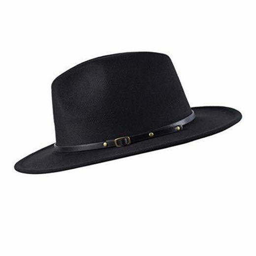 besbomig Sombreros de Sombrerera de Jazz para Hombres Mujer