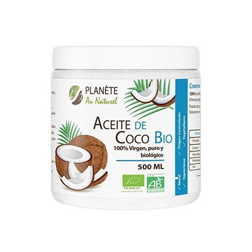 Aceite de Coco Virgen Orgánico