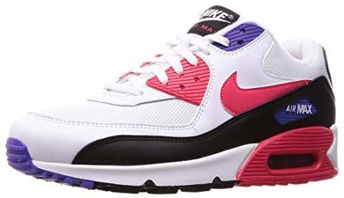 Nike Air MAX 90 Essential, Zapatillas de Gimnasia para Hombre, Blanco