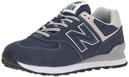 New Balance WL574EB, Zapatillas Mujer, Azul