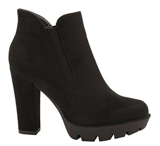 Elara Mujer Ankle Boots  Plateau Avispas Botines