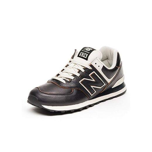 New Balance 574v2 Zapatillas Hombre, Negro
