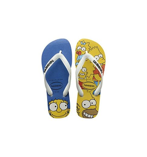 Havaianas Simpsons, Chanclas Estampadas Unisex niños, Multicolor